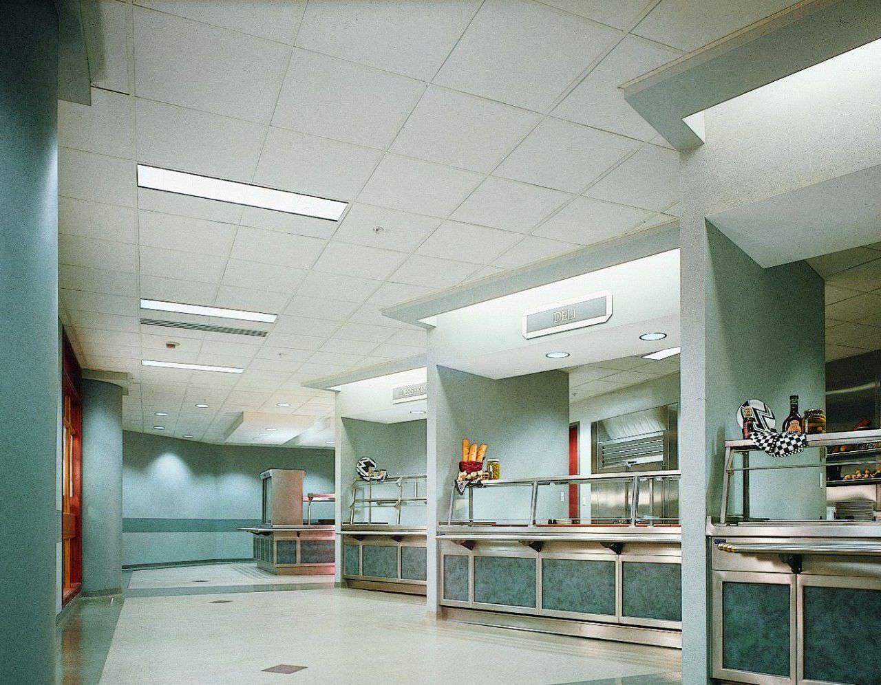 Mineral Fiber Suspended Ceiling Tile Acoustic Frost