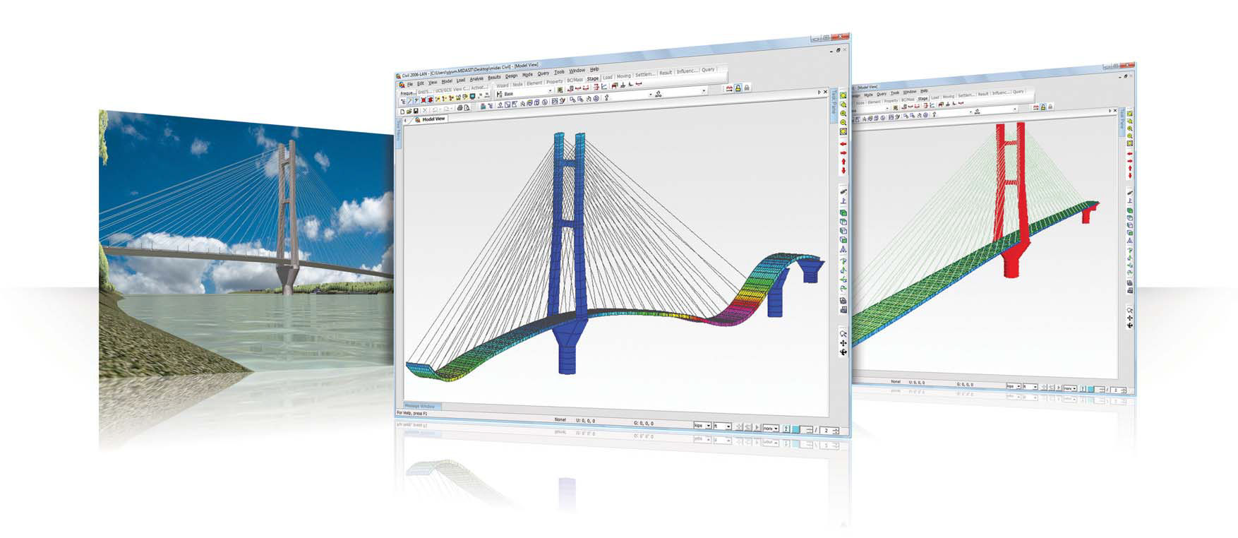 Structural calculation software / CAD / for steel structures