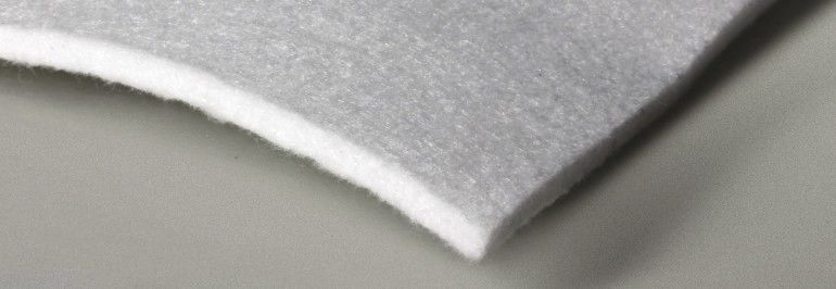 Non-woven geotextile / polypropylene / for filtration