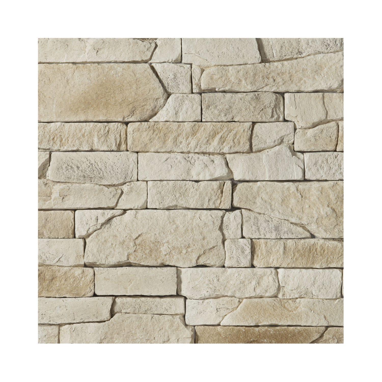 Mur En Pierre Interieur Beige engineered stone wall cladding / for indoor use / exterior