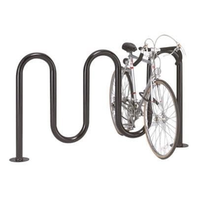 Steel Bike Rack Stainless For Public Es Heavy Duty Challenger