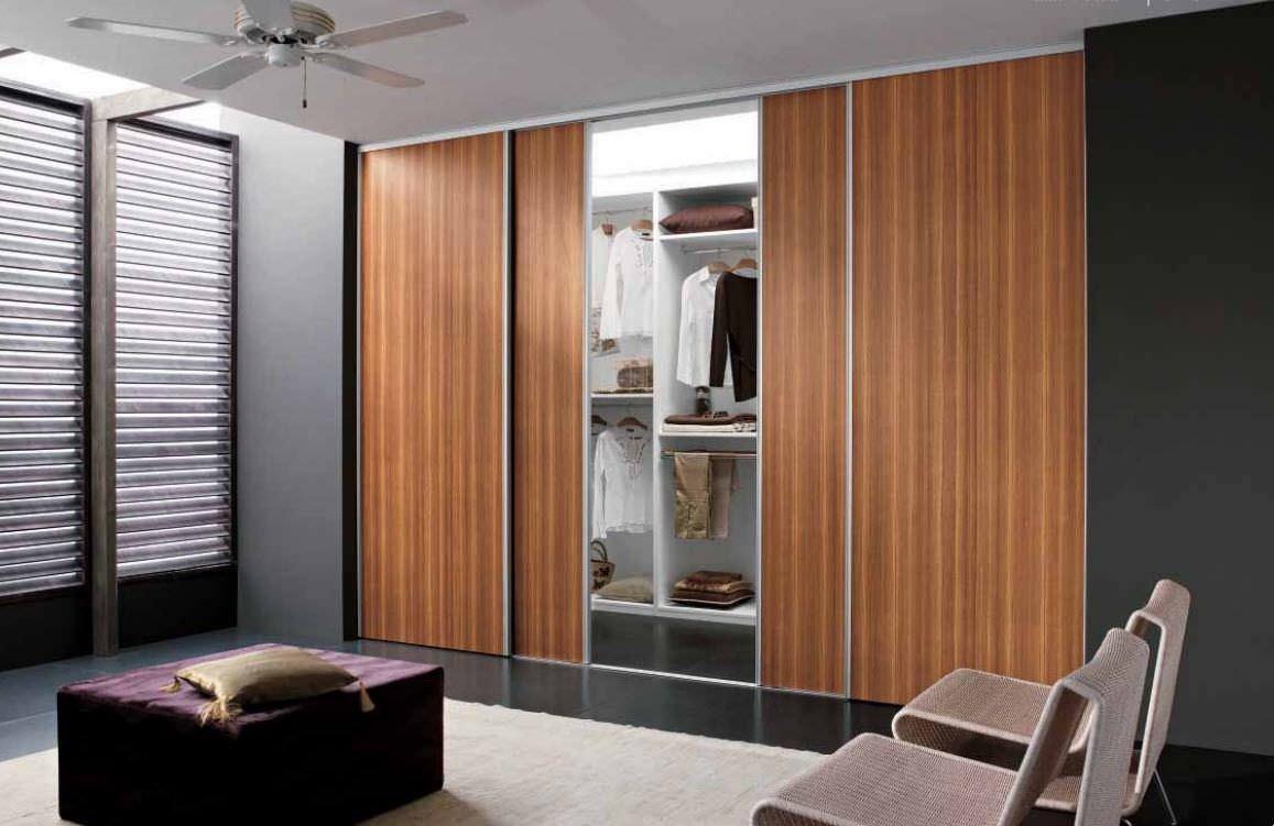 Wooden Sliding Closet Doors For