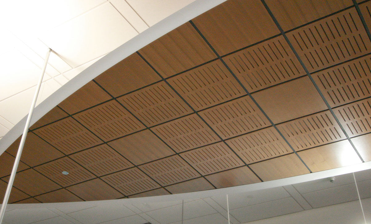 Wooden Suspended Ceiling Panel Acoustic Aluratone