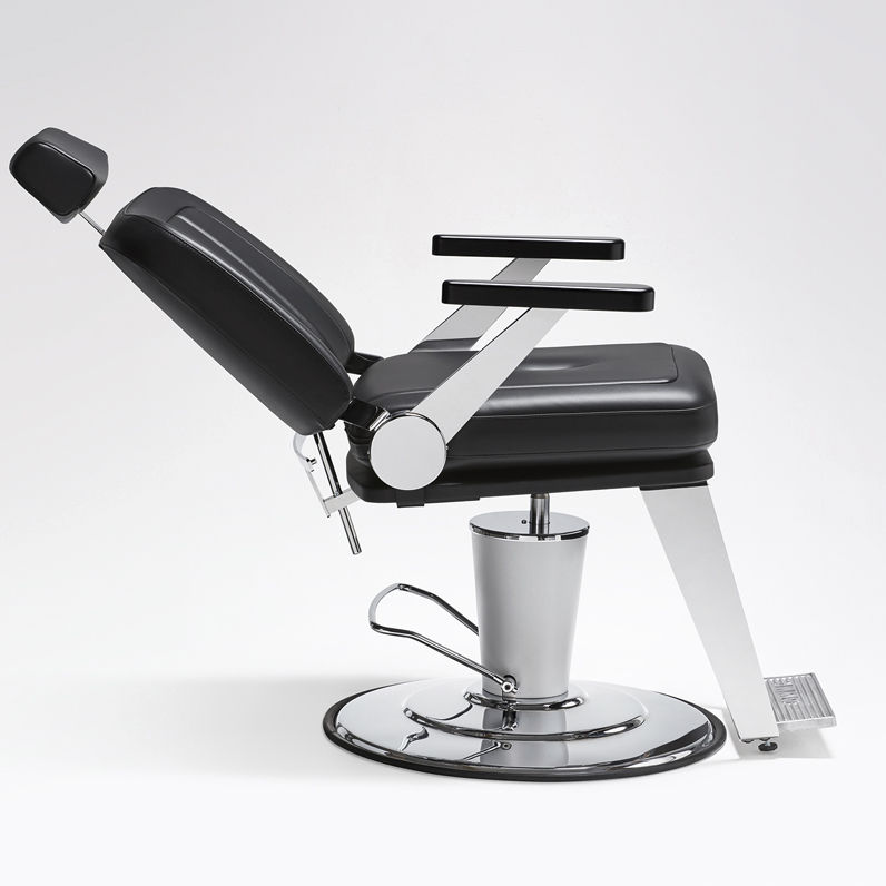 Awe Inspiring Synthetic Leather Barber Chair With Footrest With Gmtry Best Dining Table And Chair Ideas Images Gmtryco