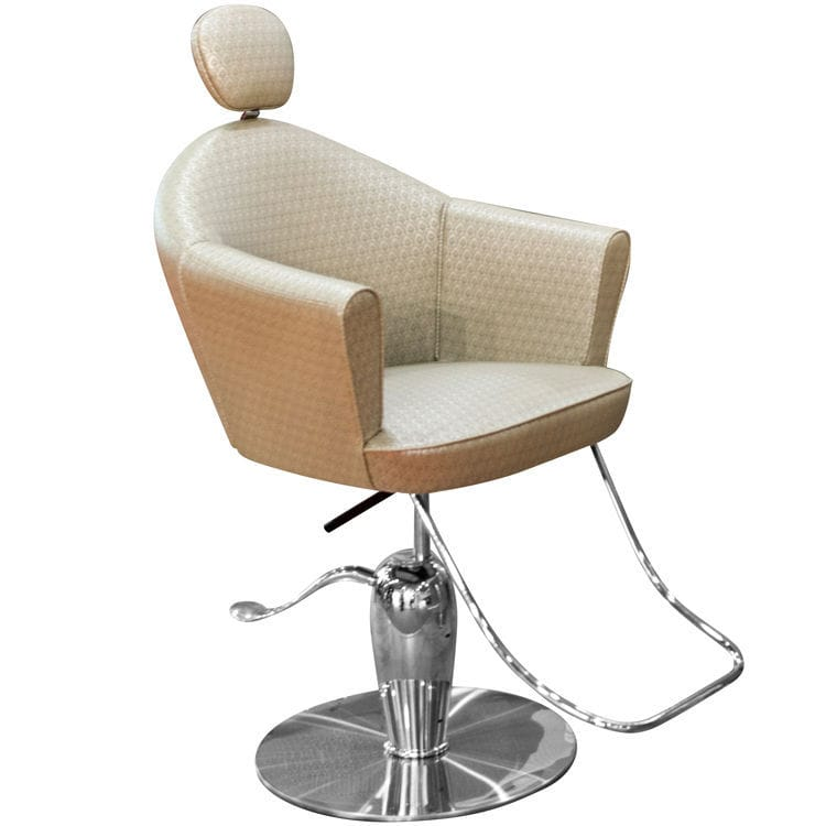 Tremendous Leather Beauty Salon Chair With Footrest With Reclining Lamtechconsult Wood Chair Design Ideas Lamtechconsultcom