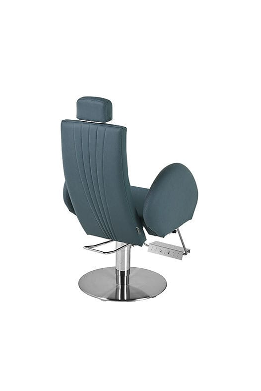 Incredible Steel Beauty Salon Chair With Headrest With Footrest Bralicious Painted Fabric Chair Ideas Braliciousco