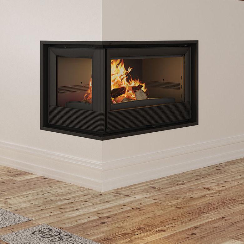Wood Burning Fireplace Insert Paris
