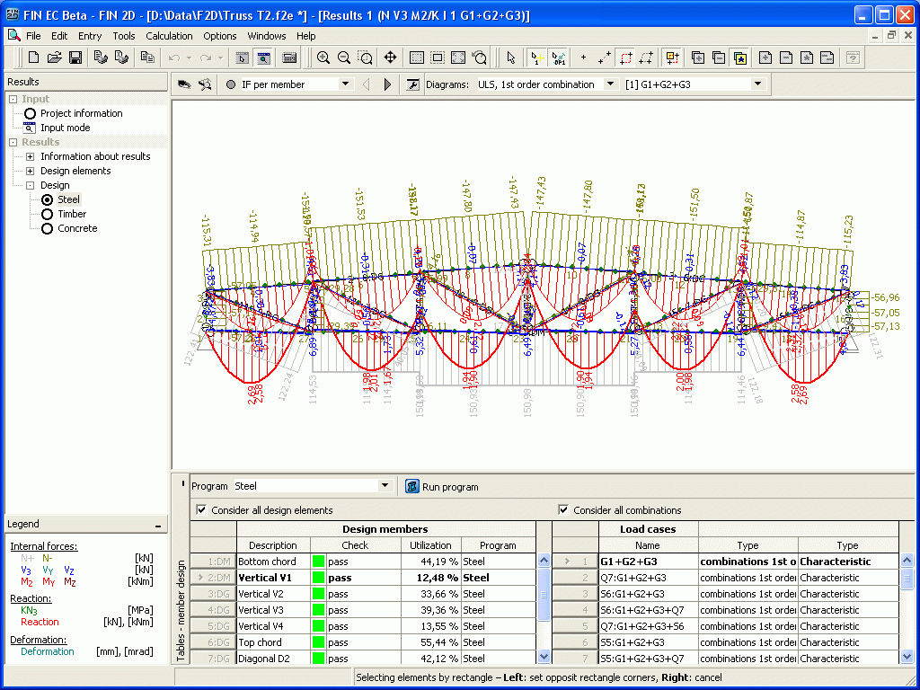 Design Software Fin Fine Calculation Computer Aided Engineering For Steel Structures