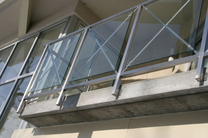 Stainless Steel Railing Gl Panel Outdoor For Balconies