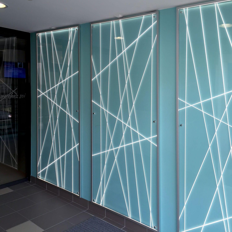 Baguette En Bois Decorative lignes blanches - rÉf. e011 - cover decorative panel / furniture / resin /  acrylicdacryl® | archiexpo