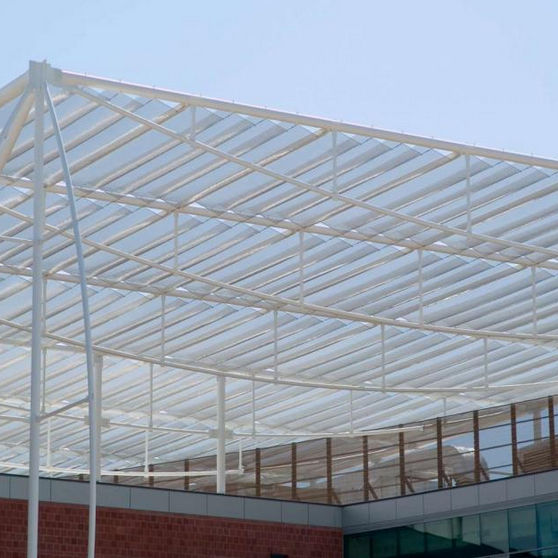 Wire Mesh Solar Shading Stainless Steel For Roofs Horizontal