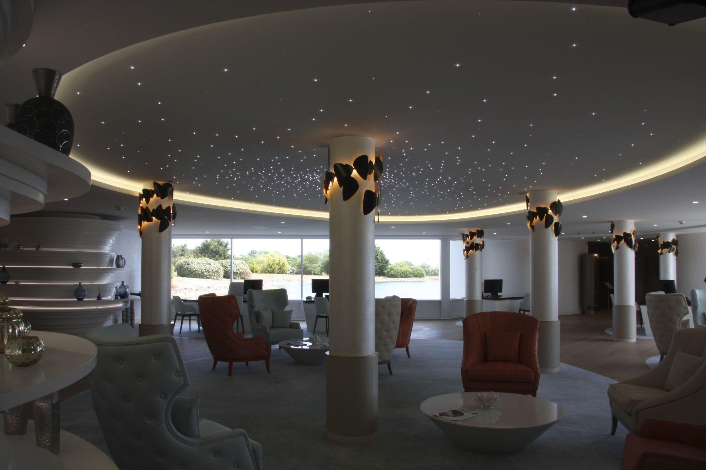 Composite Suspended Ceiling Faux Plafonds Etoiles Semeur D Etoiles Panel Acoustic Luminous
