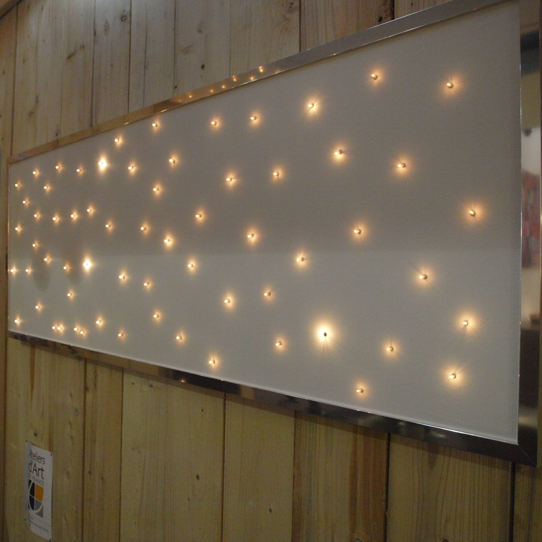 Led Tete De Lit double bed headboard / contemporary / fabric ÉtoilÉ ap16060 semeur d'étoiles