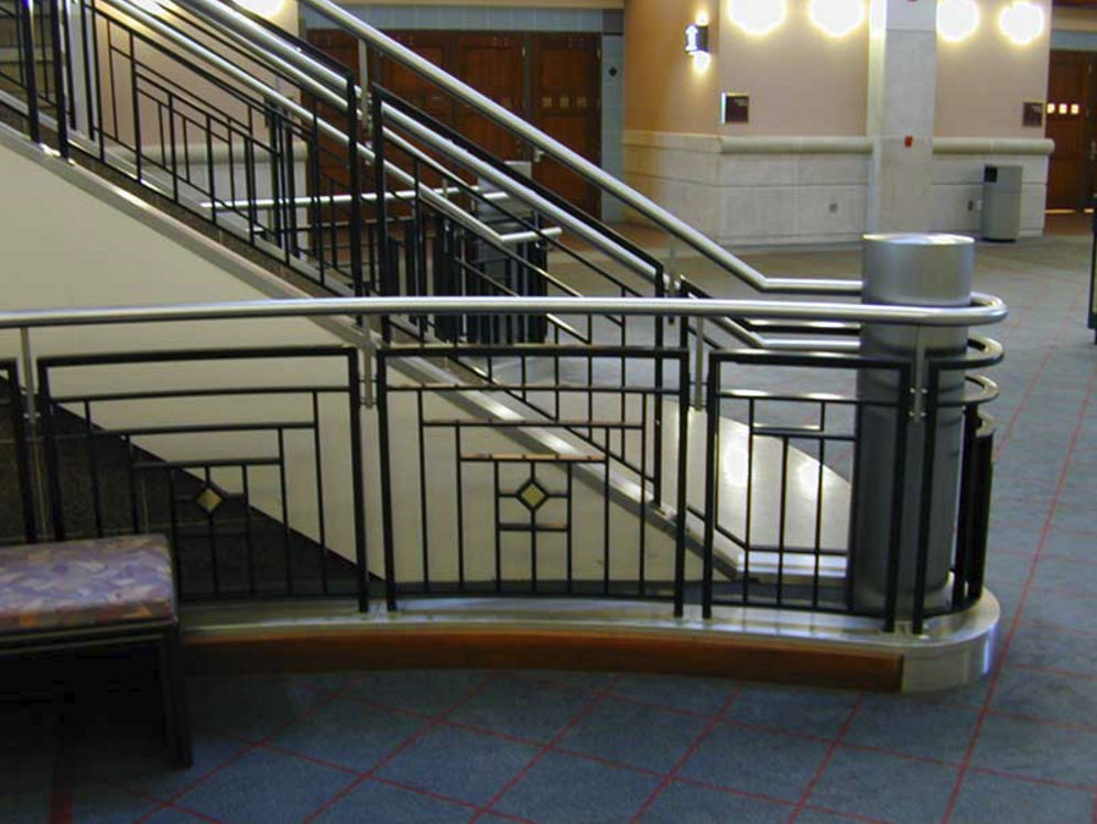 Stainless Steel Railing Bar Indoor For Stairs 35193