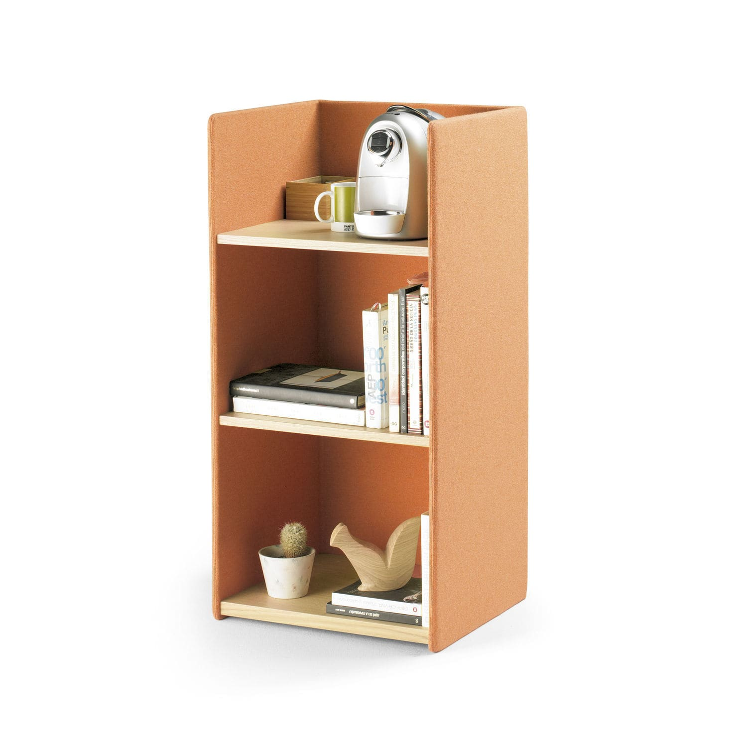 Low Bookcase Contemporary For Offices Wooden Landa