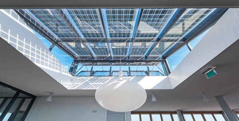 Polycrystalline Pv Panel Optisol 174 Sky Scheuten Solar