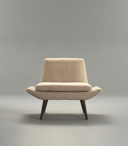 Contemporary fireside chair / fabric - MIAMI : 331 by ...