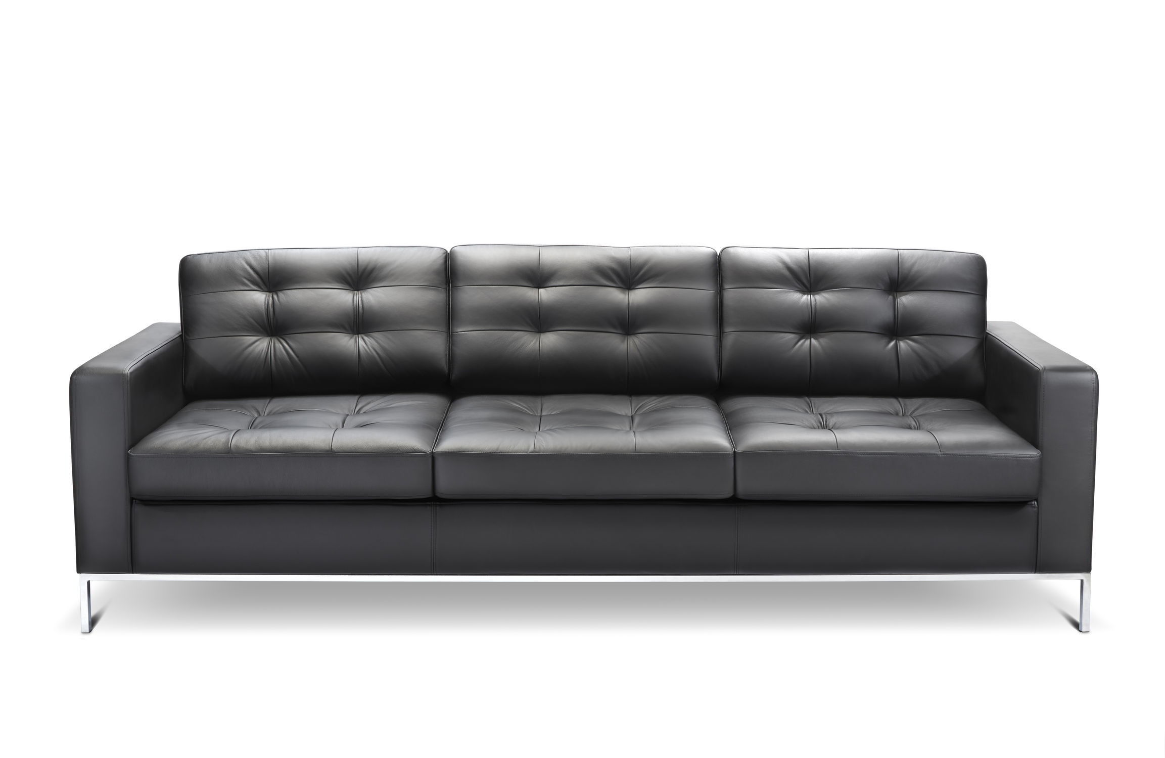 Minimalist design sofa leather 2 seater 3 seater CHECK by