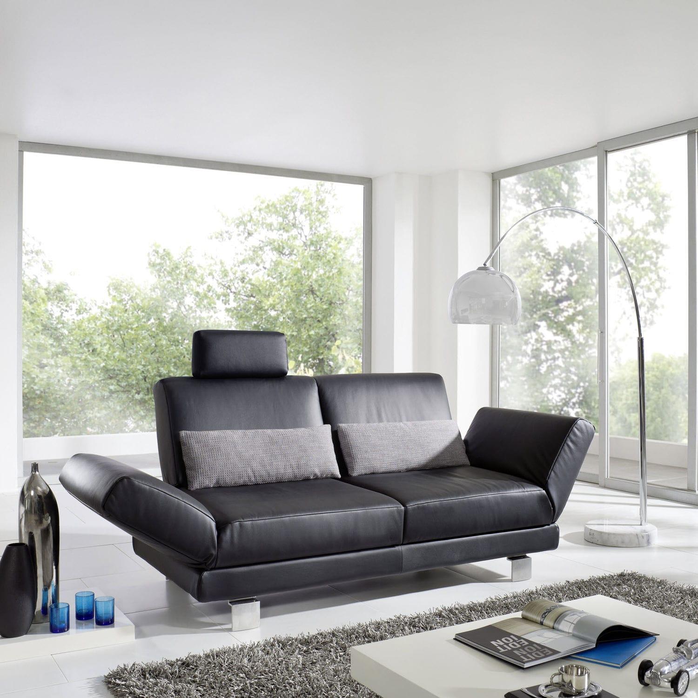 Modular sofa contemporary leather fabric VENTURO SWING S