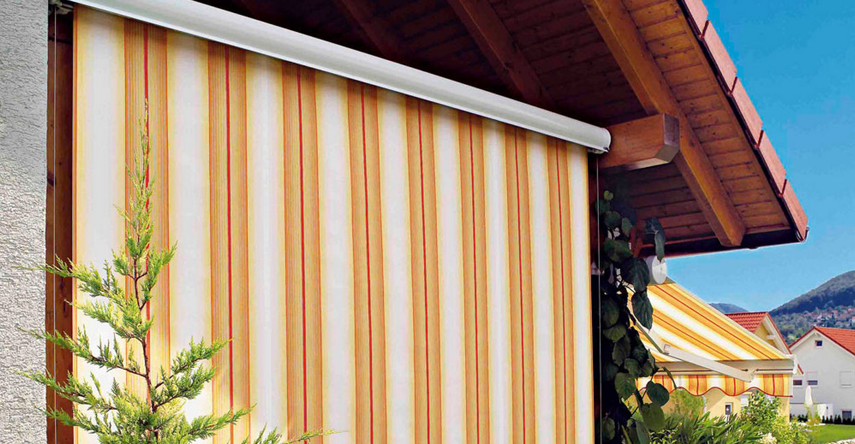 Roller Blinds Canvas Outdoor Loggia Ls