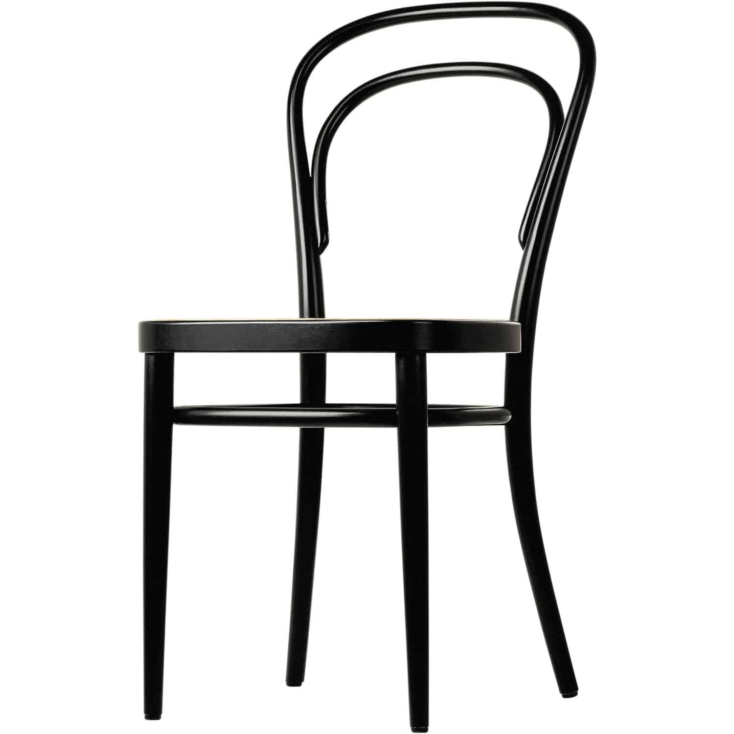 Fabulous Traditional Chair Bistro Fabric Bentwood 214 Thonet Machost Co Dining Chair Design Ideas Machostcouk