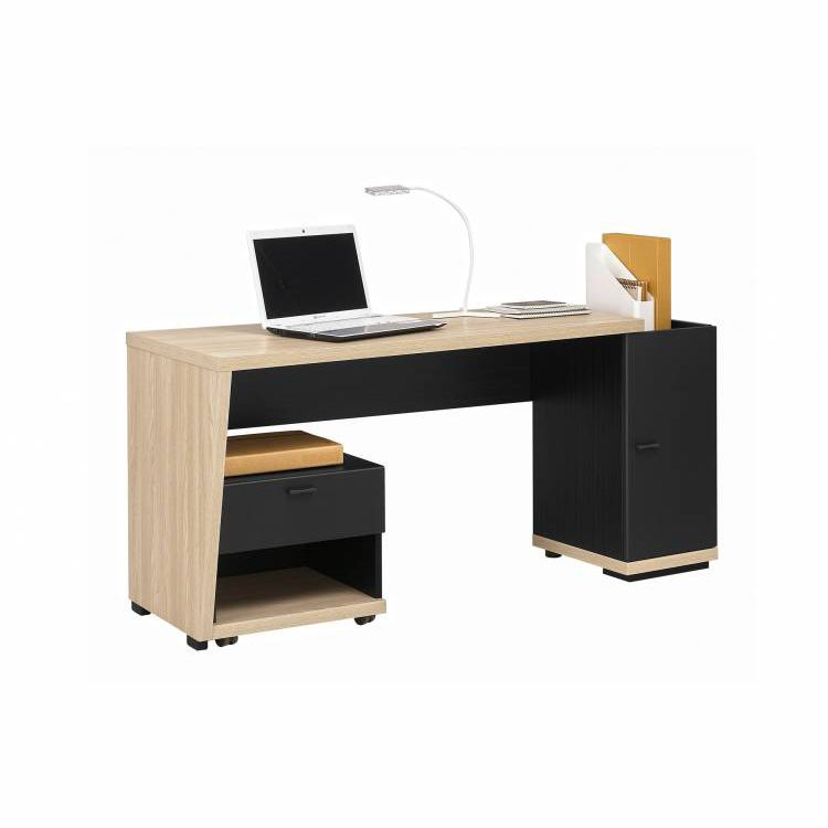 detailed look 834d6 8e9d6 Melamine desk / contemporary / with storage - URBAN : LAYOUT ...