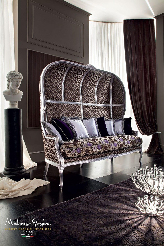 Classic sofa / fabric / 3-seater / high-back - CASANOVA ...