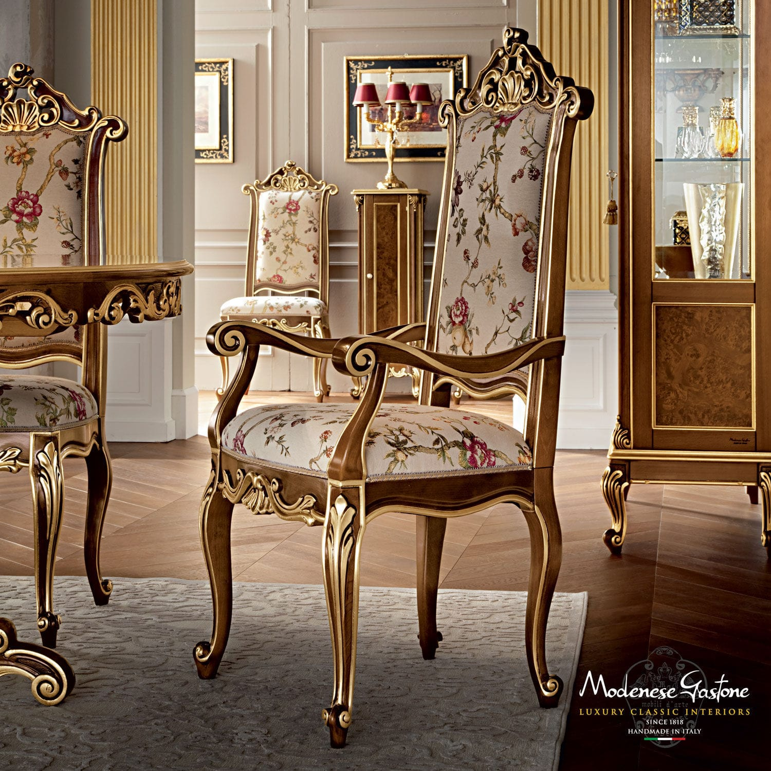 Classic chair - CASANOVA - Modenese Interiors Luxury Furniture