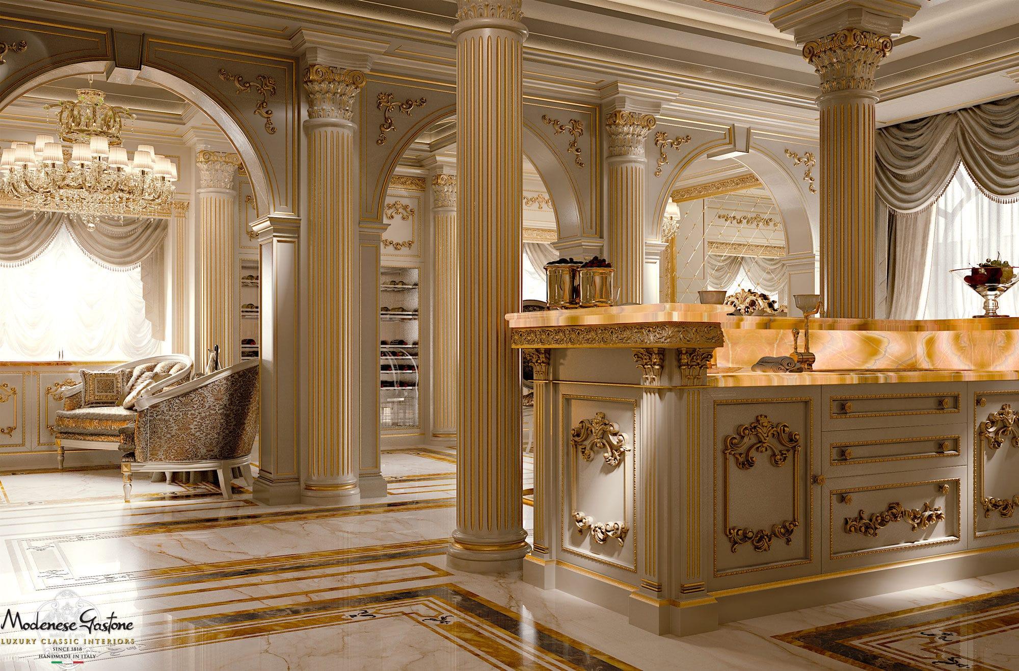 Italian Marble Bedroom