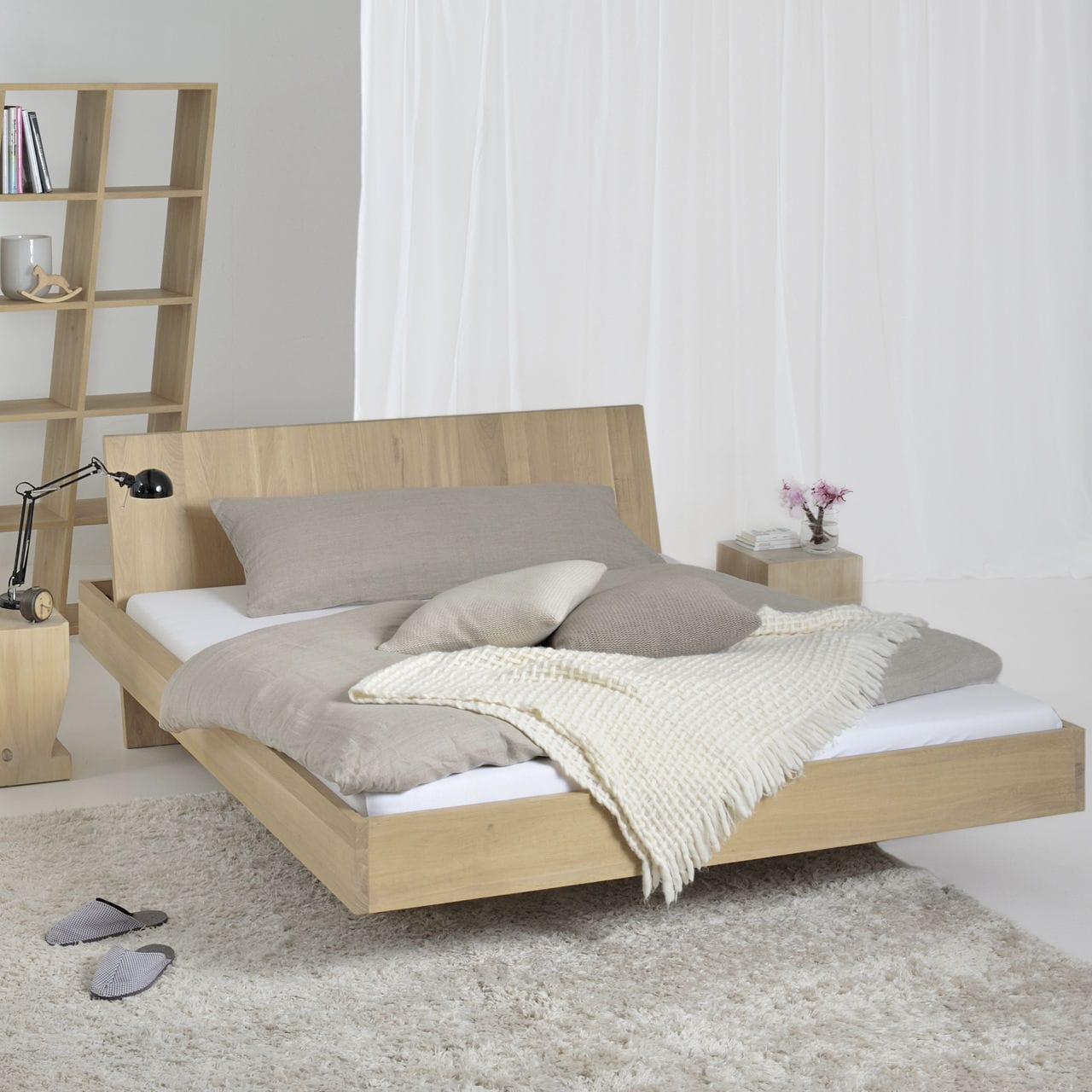 Floating Bed Somnia Vitamin Design Double Contemporary With Headboard