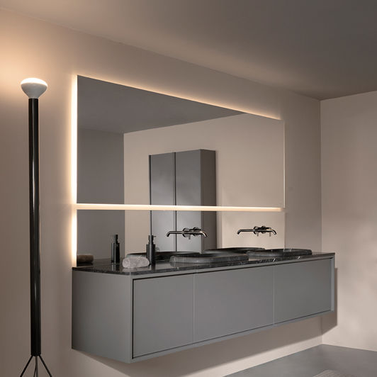 Wall Mounted Bathroom Mirror St454