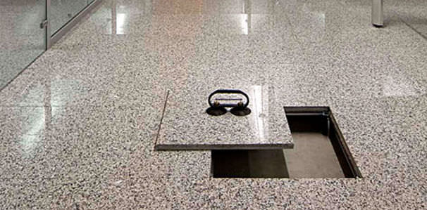 Marble Raised Access Floor And