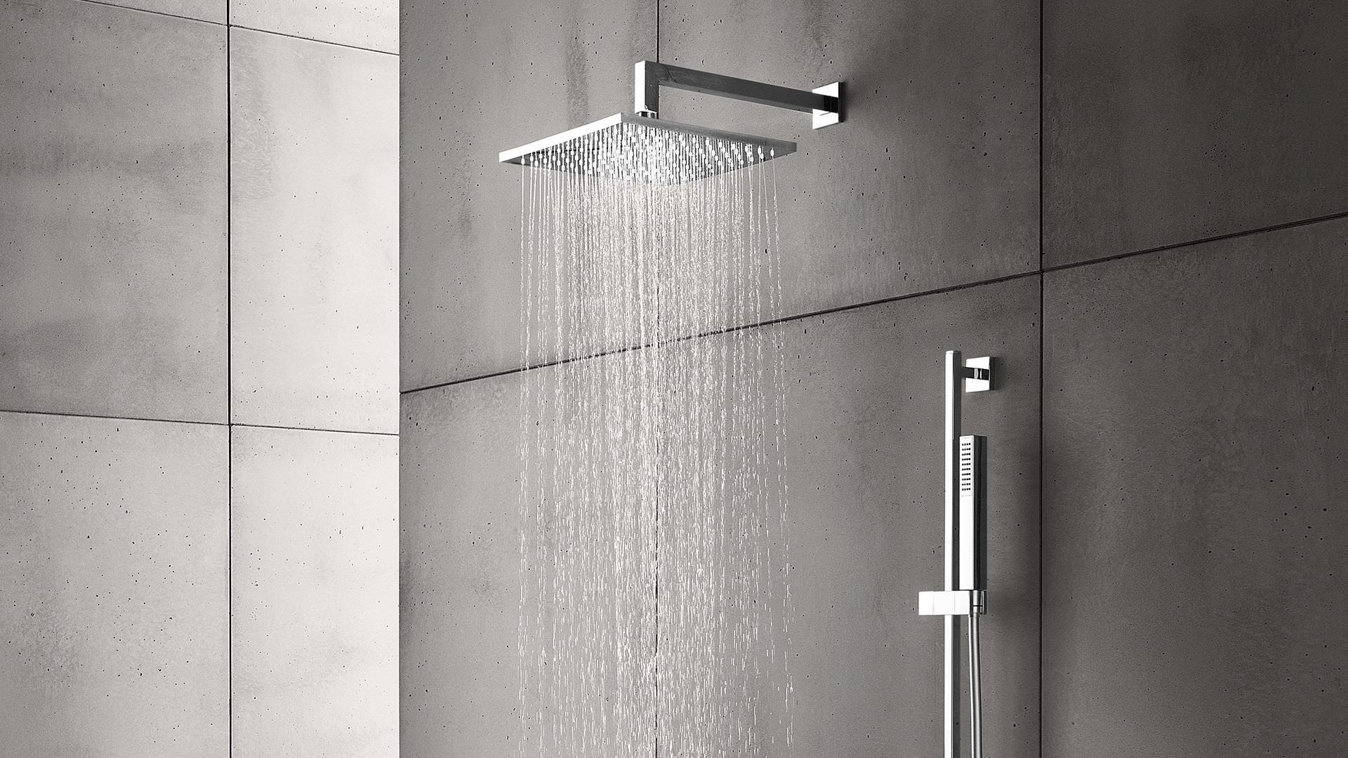 Wall Mounted Shower Head Ceiling Square Rain