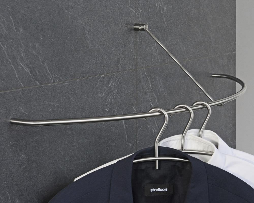 wall mounted coat hanger rack g45