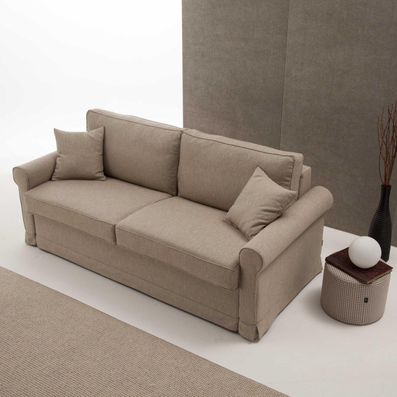 Divano In Memory Foam.Sofa Bed Meda Divani Santambrogio Contemporary Fabric 3 Seater