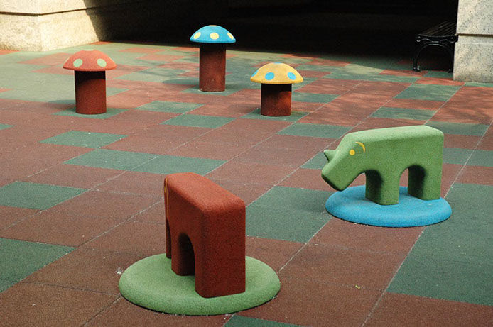 Play furniture - EUROFLEX® Elephant, Rhino, Dromedary, Pony