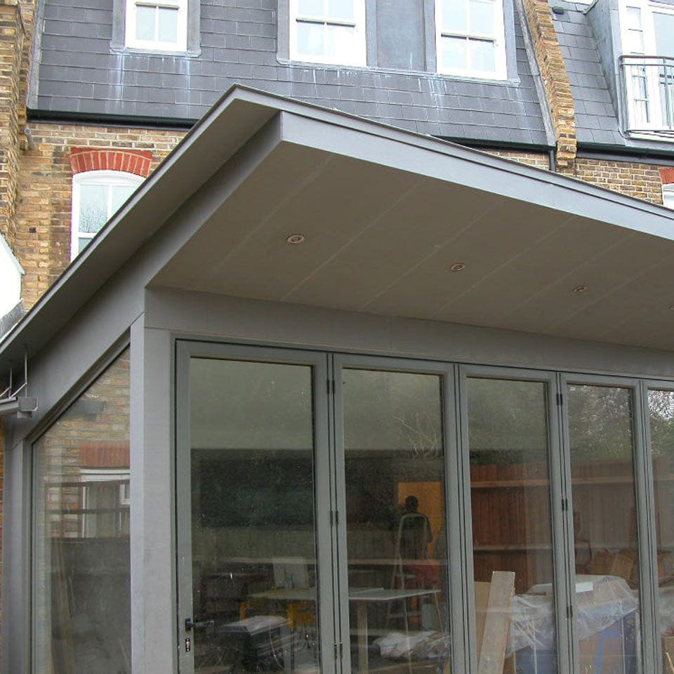 Zinc Roofing Victorian Terraced House Peters Roofing Standing Seam