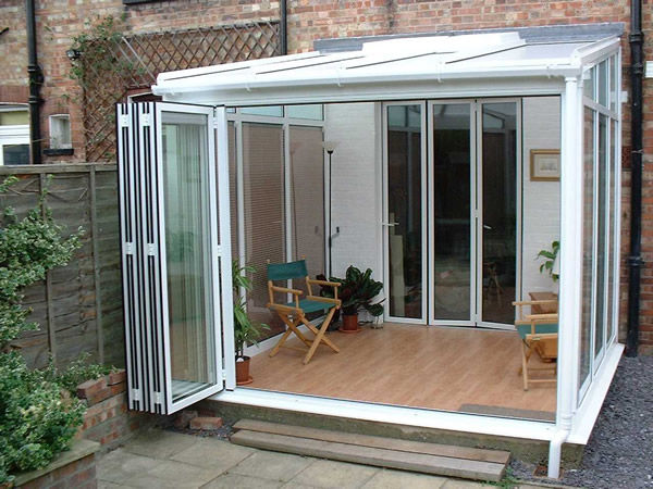 Glass Conservatory Aluminum All Glass I D Systems