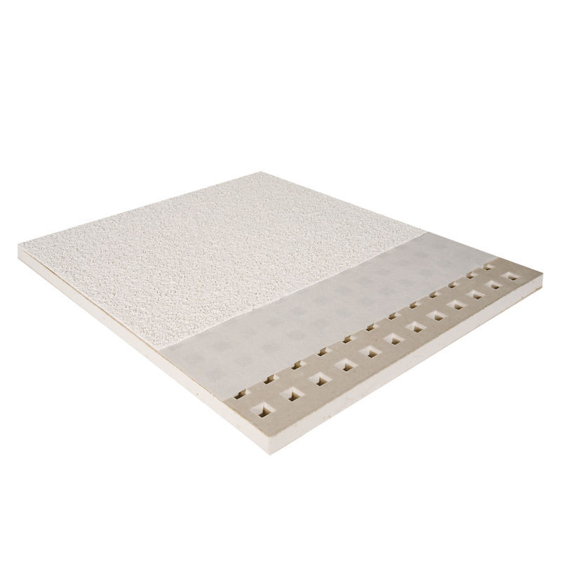 Plaster Suspended Ceiling Panel Acoustic Perforated