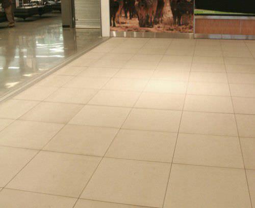 Indoor Tile Sandstone White