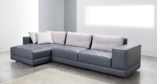 Modular Sofa Contemporary Leather 3 Seater Matrix