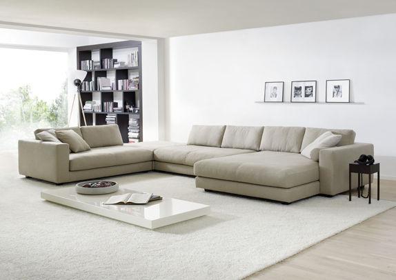 Corner sofa / modular / contemporary / fabric - ATOLL - Machalke