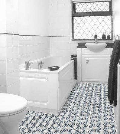 Granada Tile Bathroom Floor