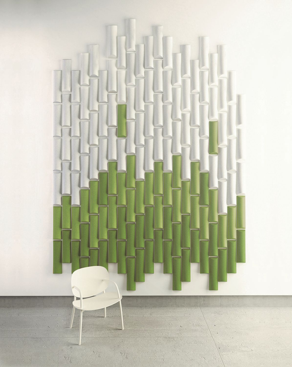 Wall Mounted Acoustic Panel Felt Decorative Colored