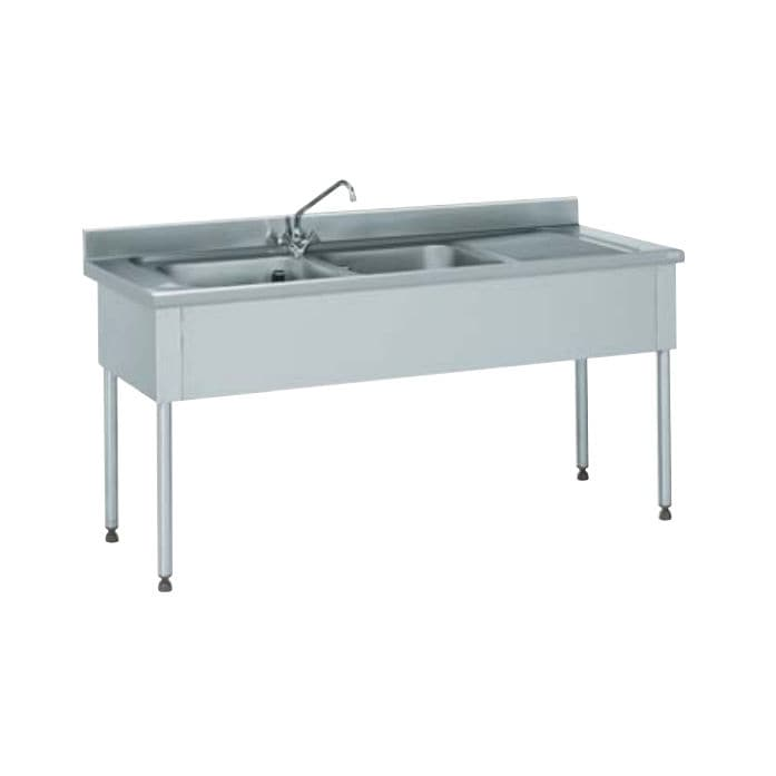 kitchen sink cabinet with legs / for commercial kitchens