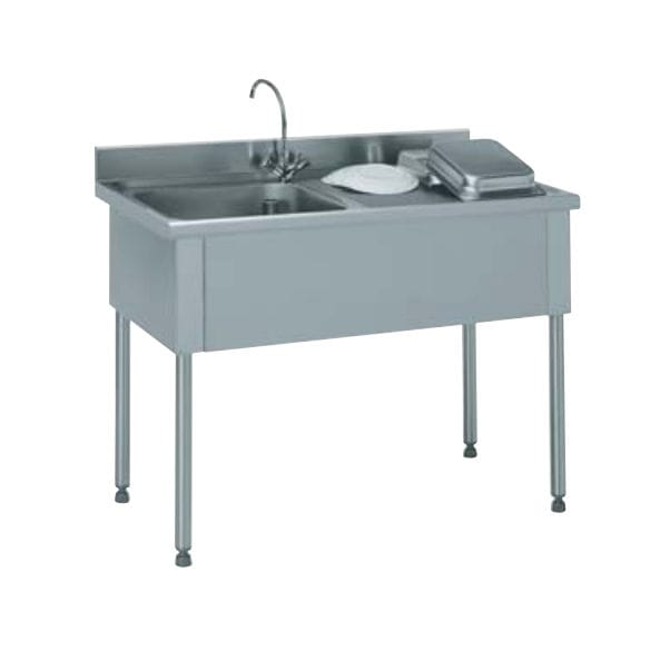 Pleasant 816 661 Kitchen Sink Cabinet With Legs For Commercial Kitchens By Tournus Archiexpo Download Free Architecture Designs Scobabritishbridgeorg
