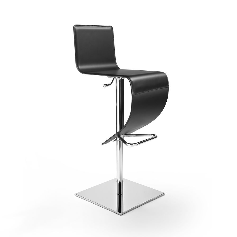 Contemporary bar chair - STELLA Q SG - Julia - upholstered / with