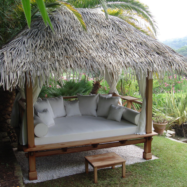 Canopy Garden Bed Double Original