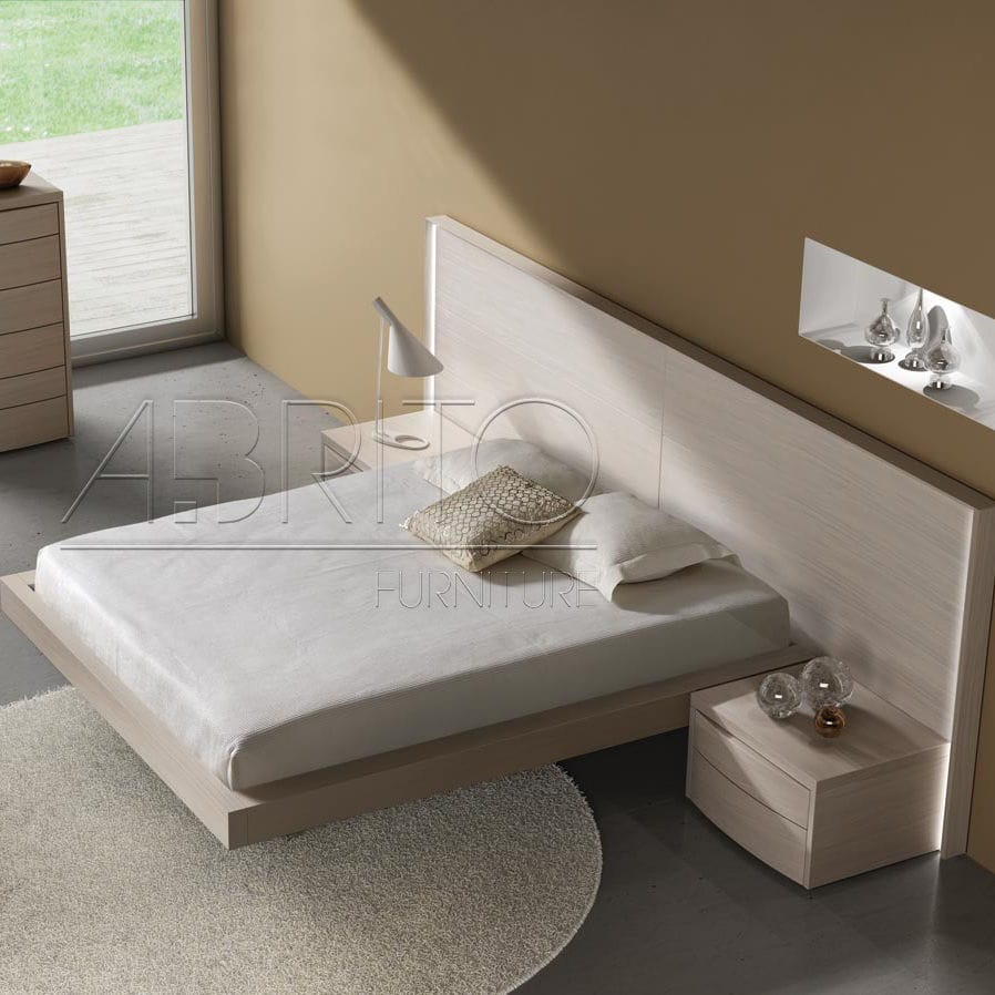 low priced 36d9f 80deb Floating bed / double / contemporary / with headboard - ARIS ...
