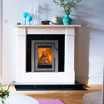 Wood Burning Fireplace Insert 3 Sided I4 Modern Contura Videos